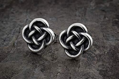 Sterling Silver Little Celtic Love Knot Post Earrings