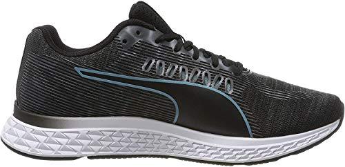 PUMA Speed SUTAMINA Wns, Zapatillas de Running para Mujer, Black-Milky Blue-Pink Alert, 39 EU