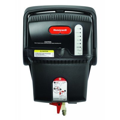 Honeywell HM609A1000 Tru-steam Humidifier with Ro Filter Kit and Humidipro Control, 9 gal, Black