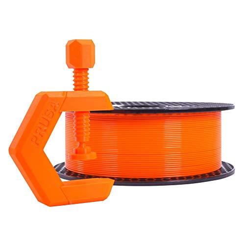 Prusament Prusa Orange, PETG Filament 1.75mm 1kg Spool (2.2 lbs), Diameter Tolerance +/- 0.02mm
