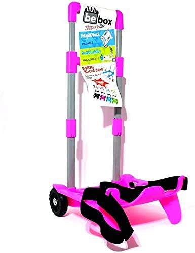 Seven Be Box TOP Carrello Trolley Portazaino Blocca Zaino rosa