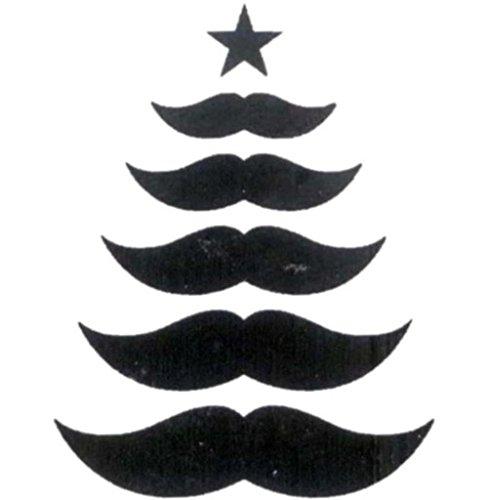 Darice Christmas Mustache Tree Embossing Essentials Folder