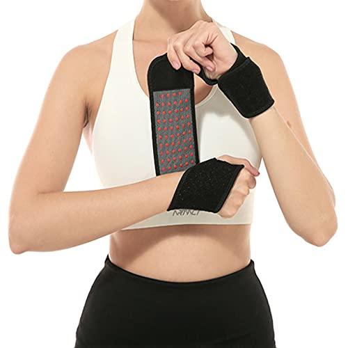 Glsety Handgelenkbandage für Damen und Herren,Atmungsaktivem Daumenbandage,Handgelenkstütze einstellbare für Sport,Alltag,Fitness & Bodybuilding,Gewichtheben(1 Stück)