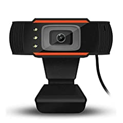 High definition with 480P and true color images.Optical lens, high precision and no distorted pictures.Compatible with USB 2.0. Up & down 30 degrees rotatable, you can adjust the angle as you like.Auto focus, don't need to adjust the lens. Designed f...
