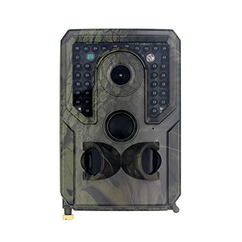 XUMU Wildkamera Jagdkamera, 12 MP, 1080P HD, wasserdichte Trail-Kamera mit 120° Weitwinkel, bewegungsaktivierte Nachtsicht, Jagdkamera für Wildtier-Jagd-Überwachung