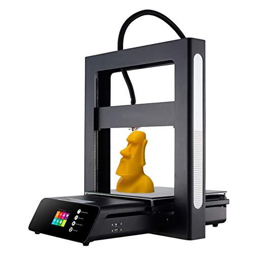 CANDLESTICK Impresora 3D Negra, Nivelación Multitáctil/Sistema De Alerta Temprana/Reanudación De Apagado/Detección De Falta De Material, Protección contra Extracción De Tarjeta SD