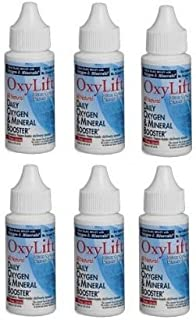 OxyLift® Sixpack, All Natural Daily Oxygen & Mineral Booster with Ionic Minerals, Enzymes, Amino Acids & Beneficial Subtle...