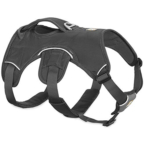 RUFFWEAR, Web Master, Multi-Use Support Dog Harness, Hiking and Trail Running, Service and Working, Everyday Wear, Twilight Gray, XX-Small