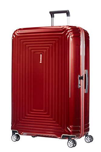 Samsonite Neopulse - Spinner XL Koffer, 81 cm, 124 L, Rood (metallic red)