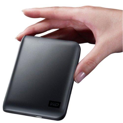 Western Digital WDBAAB3200ACH My Passport Essential  320GB externe Festplatte (6,4 cm (2,5 Zoll)) Charcoal