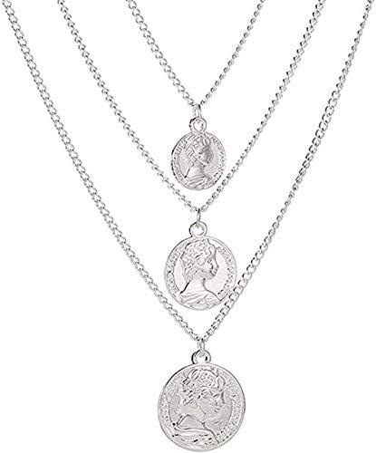 zxcdsaqwe Co.,ltd Collar Simple Colgante Collar Hoja Collar Gargantilla de Cadena Larga Collar para Mujer Hoja Gargantilla