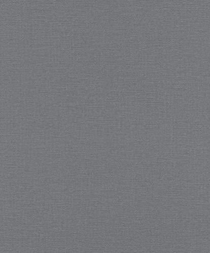 Rasch Tapeten Vliestapete (universell) Grau 10,05 m x 0,53 m Tapetenwechsel 804522 Tapete, 10.05 0.53 m