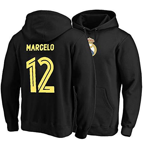YUUY Unisex-Kapuzenpulli Marcelo Vieira da Silva Junior # 12 Sportpullover, Männer und Frauen Sweatshirt (Color : C, Size : Large)