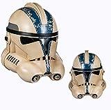Clone Trooper Casco Stormtrooper Fase 2 Máscara de cabeza completa para hombre, cosplay de disfraces para Halloween