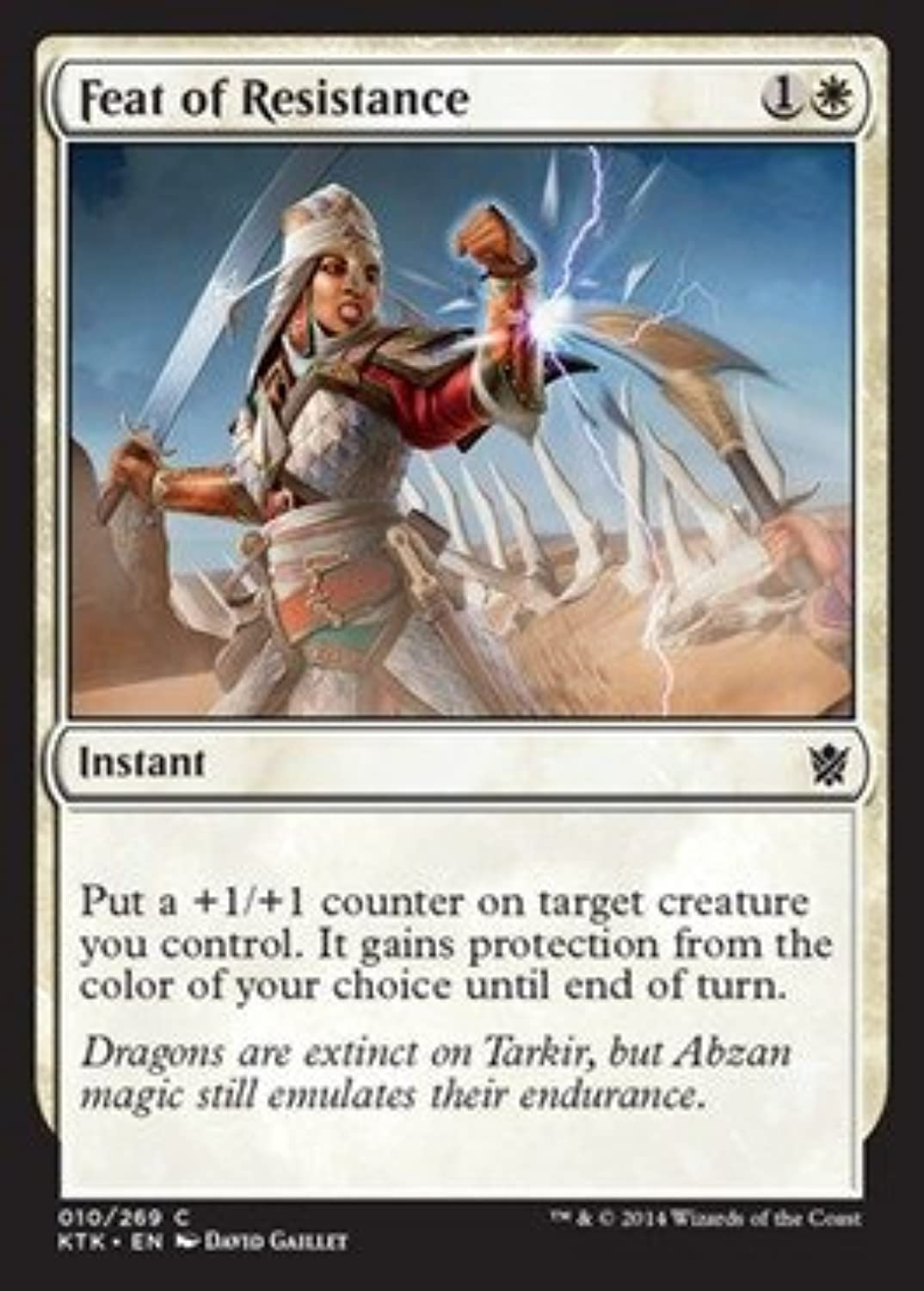 Magic  the Gathering  Feat of Resistance (10 269)  Khans of Tarkir