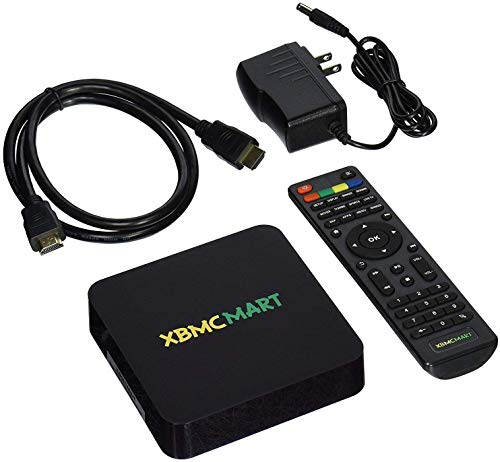 XBMCMart Smart Android TV Box Player [Quad CORE | 64 BIT | 4K]