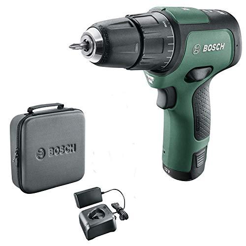 Bosch 06039B6170 EasyImpact 12 Cordless Hammer Drill (1 Battery, 12 Volt System, in Soft Storage Bag)