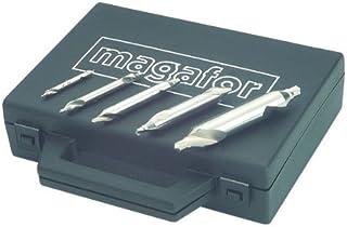 Tin Metric Cobalt Center Magafor 80081108300 Drill Bit 8.0 mm Body Diameter x 3.0 mm Point Diameter