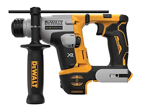 DeWalt DEWDCH172N DCH172N Ultra-Compact XR SDS Plus Rotary Hammer 18V Bare Unit, 18 V, Black/Yellow