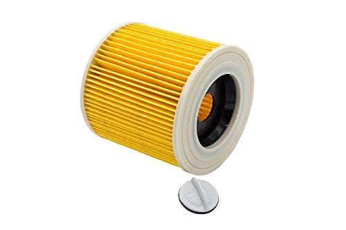 vhbw Patronenfilter kompatibel mit Kärcher WD 1, WD 2, WD 3,WD3 Premium, WD 3 P Extension Kit, WD 3.200, WD 3.300 M, WD 3.500 P Ersatz für 6.414-552.0