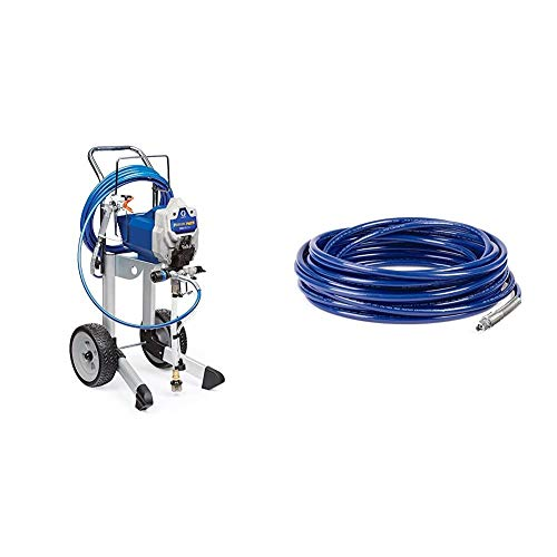 Graco 17G180 Magnum ProX19 Cart Paint Sprayer & 247340 1/4-Inch Airless Hose, 50-Foot