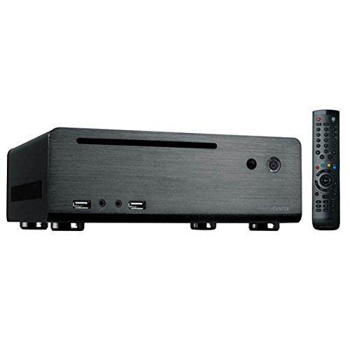 MS-Tech MC-80BL PC-Gehäuse (60 Watt, Mini-ITX)