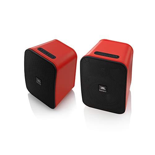 JBL Control X Wireless Bluetooth-Lautsprecher (Wetterfest, 1 Paar) rot