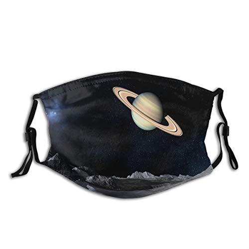 Saturn Planet Men And Women Riding Face Decoration, Dustproof Belt Filter,...