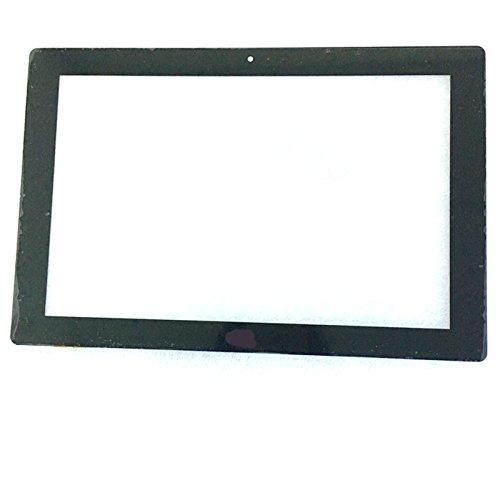 EUTOPING Schwarz Neue 10.1 Zentimeter für IRULU Walknbook 10.1 W1004 Touch Screen digitizer Ersatz für tablette