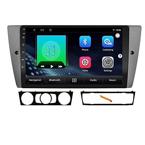 XISEDO Android Autoradio In-dash Car Radio 9' Car Stereo Navigatore GPS con Schermo di Tocco e Lettore per BMW 3 Series E90 (E90)