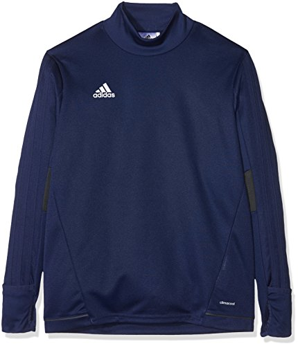 adidas Kinder Tiro 17 Trainingstop, Dark Blue/Dark Grey/White, 128
