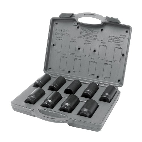 Performance Tool - 9 Pc Axle Nut Socket Set (W89318) Drivetrain & Suspension