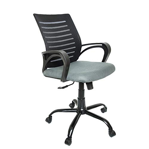 CELLBELL® C104 Medium-Back Mesh Office/Study Chair [Grey]