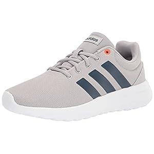 adidas Lite Racer CLN 2.0 Running Shoe, Grey/Crew Navy/White, 13 US Unisex Little Kid