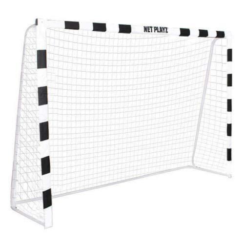 SPRINGOS Fußballtor für Kinder | Faltbar mit Stabilem Netz | 300 x 200 x 90 cm | Jugendtor | Perfekt für Fußballspiel/Hockey/Indoor/Outdoor/Garten