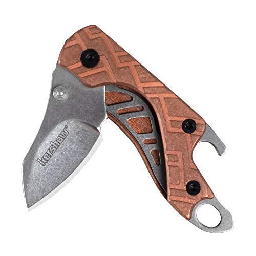 Kershaw Cinder Copper 1025CU Mini Taschenmesser aus Kupfer mit Kapselheber