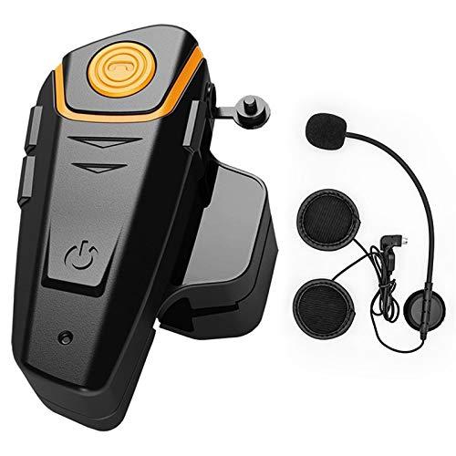 BT S2 Bluetooth Intercom Casco De Motocicleta Interrefacular Auriculares Impermeable Inalámbrico Bluetooth Moto Auriculares Interphone LQLYEM
