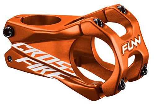 Funn Crossfire MTB Stem, Bar Clamp 31.8mm, Lightweight and Strong Alloy Stem for Mountain Bike (Length 35mm, Orange)