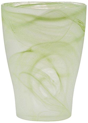 Scheurich 55821-INDOOR Orchideentopf 13x13x17cm grass twirl, aus Glas
