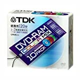 Media TDK 3倍速対応DVD-RAM 10枚パック DVD-RAM120CMX10U