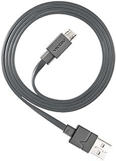 كابل USB صغير للشحن من Ventev | شحن مريح من أي منفذ USB قياسي، نقل البيانات إلى أي جهاز كمبيوتر أو ماك، شحن سريع S2.1A ، ت...