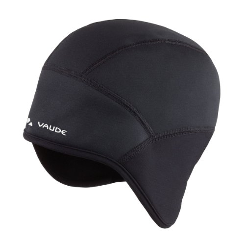 VAUDE Unisex Mütze Bike III, black, S, 03223
