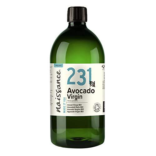 Naissance Avocadoöl, nativ 1 Liter BIO zertifiziert 100% rein