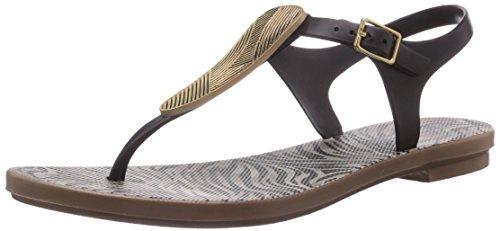 Grendha Savannah Sandal, Sandales - Femme - Ecru (Brown/Beige/Gold 23353) - 40