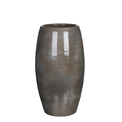 MICA Decorations 1002880 Vaso Lester, Grigio