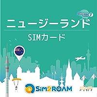 ニュージーランド SIMカード インターネット 30日間 4G 高速データ通信容量1.25GB + 国内通話バック200分 – New Zealand SIM 30days 2Degrees回線利用