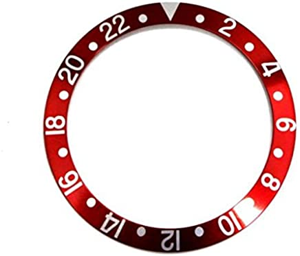 圧入式ベゼルインサート(赤)★ROLEX GMT用 【当店オリジナル商品(※全5タイプ)】