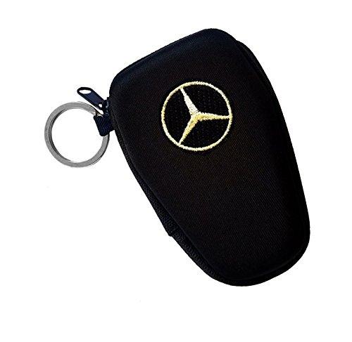 Mercedes Schlüsseltasche mit Zwei Schlüsselringen