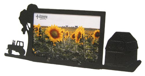 Innovative Fabricators, Inc. Farm Site Tractor & Barn 4X6 Horizontal Picture Frame
