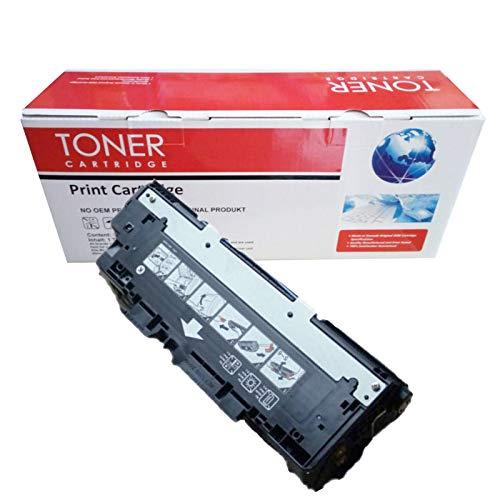Cartucho de tóner 308A Q2670A (1BK)   309A Q2671A Q2672A Q2673A (1C+1Y+1M) compatible con HP Color Laserjet 3500 3500N 3550 3700N 3700N 3700DN 3700DTT N Printer-Yellow